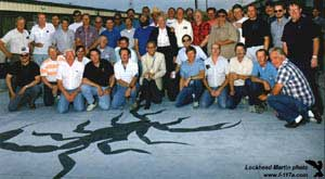 [10th Anniversary Celebration June 18, 1991 at Groom Lake (Lockheed Martin)]