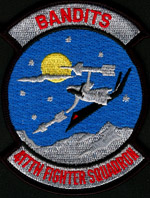 [Reproduction of 417th 'Bandits' FS Patch.(Webmaster's Private Collection)]