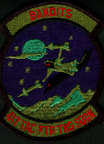 [Subdued 417th 'Bandits' TFTS Patch.(Webmaster's Private Collection)]