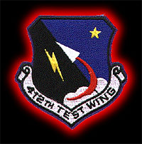 [412th Test Wing Patch.]