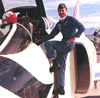 [Bob 'Burner' Jackson as a USAF Thunderbird. (USAF)]