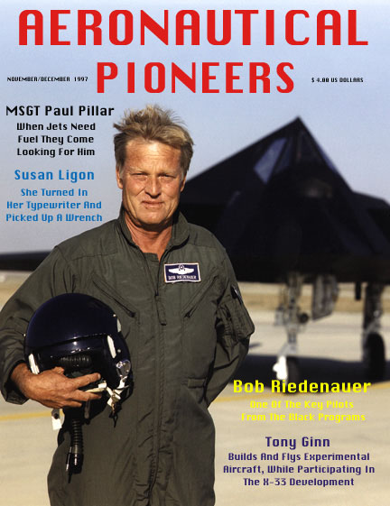 [F-117A and LTC Bob Ridenhauer-cover Nov/Dec 97 AeronauticalPioneers.()]