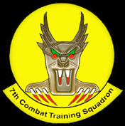 [7th Combat Training Squadron.]