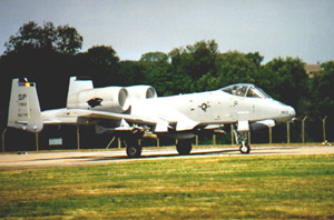 [A 81st FS O/A-10 during Allied Force.()]