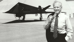 [Ben Rich-the father of the F-117A. (LMSW)]
