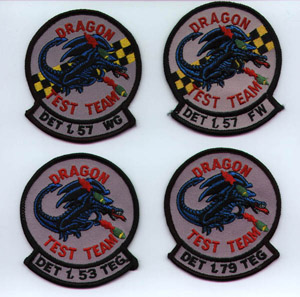 [Various Dragon patches.(Carrie Rasberry www.bellx-3.com)]