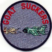 [Reproduction of Goatsucker patch. (Webmaster's Private Collection)]