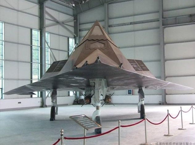 [F-117A mockup located in China. (Internet)]