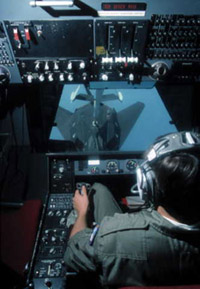 [F-117A being refueled. ()]