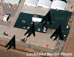 [410th birds in formation. (Lockheed Martin Skunk Works)]