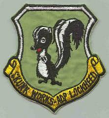 [CAPTION: Skunk Works Patch]