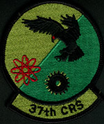 [37th Component Repair Squadron patch. (Webmaster's private collection)]