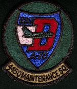 [4450th Maintenance Squadron. (Webmaster's private collection)]