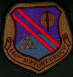 [4461st Support Group patch. (Webmaster's private collection)]
