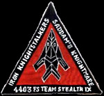 [Team Stealth IX patch.()]