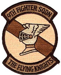 [9th FS desert patch. (Webmaster's Private Collection)]