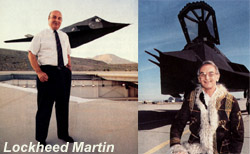[Lockheed's Dennis Overholser (left) and Alan Brown (right). (Denny Lombard photo/Lockheed Martin photo)]