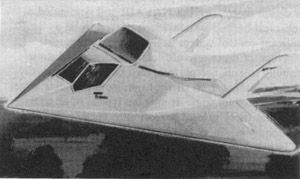 [Northrop XST entry. (Northrop photo scanned by Jeff Clark)]