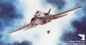 [Proposed F-117X variant painting by Steven Moore .(LMSW)]